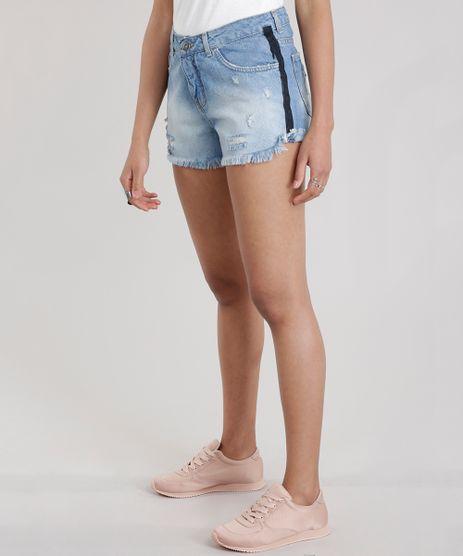 Short-Jeans-Relaxed-Destroyed-Azul-Medio-8720561-Azul_Medio_1