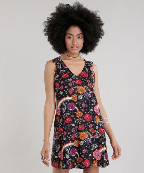 Vestido-Estampado-Floral-Preto-8631889-Preto_1