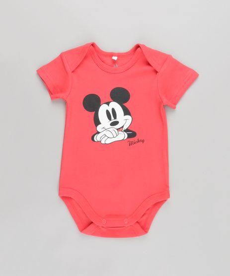 Body-Mickey-em-Algodao---Sustentavel-Vermelho-8584587-Vermelho_1