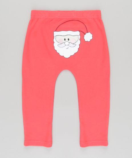 Calca-Papai-Noel-em-Algodao---Sustentavel-Vermelha-8612363-Vermelho_1