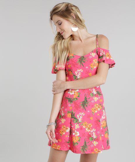 Vestido-Open-Shoulder-Estampado-Floral-Pink-8809151-Pink_1