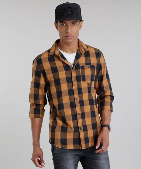 Camisa-Xadrez-Caramelo-8448789-Caramelo_1