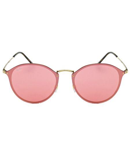 Óculos de Sol Ray-Ban RB3574N - Espelhado - Dourado   Rosa - 001 E4 ... 8ae1f6610b
