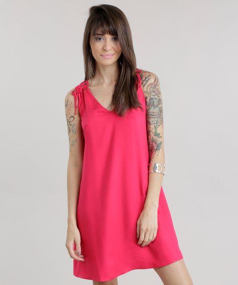 Vestido-com-Ilhos-Rosa-Escuro-8642559-Rosa_Escuro_1