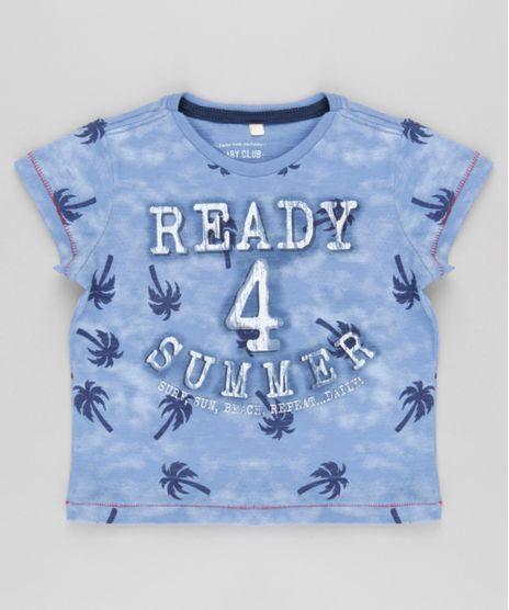 Camiseta-Estampada-de-Coqueiros-Azul-8747011-Azul_1