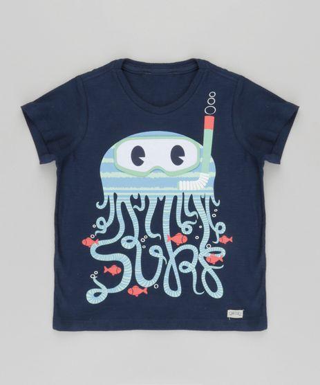 Camiseta--Polvo--com-Estampa-Interativa-Azul-Marinho-8747017-Azul_Marinho_1