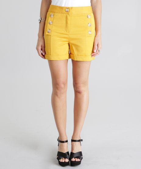 Short-Texturizado-Amarelo-8665199-Amarelo_1