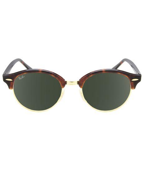 foto-1. salvar. ver detalhes · Óculos de Sol Ray-Ban Clubround RB4246 -  Tartaruga Dourado - 990 51 d1f3f8f810efd