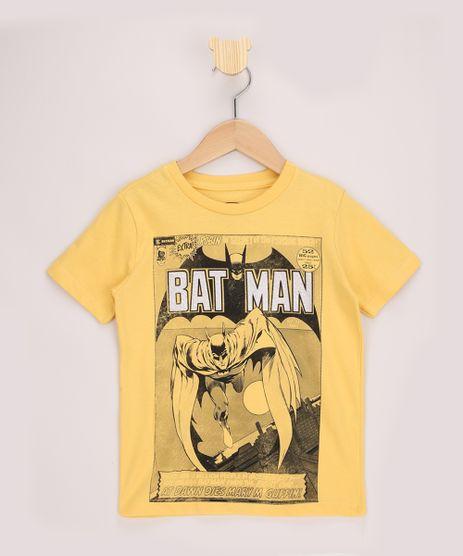 Camiseta-Infantil-Batman-Revista-Manga-Curta-Amarela-9968591-Amarelo_1