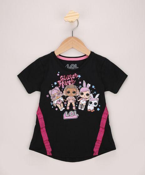 Blusa-Infantil-Ampla-LOL-Surprise-com-Glitter-e-Paete-Manga-Curta-Preta-9966530-Preto_1