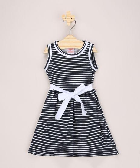 Vestido-Infantil-Listrado-com-Faixa-para-Amarrar-Sem-Manga-Azul-Marinho-9973991-Azul_Marinho_1
