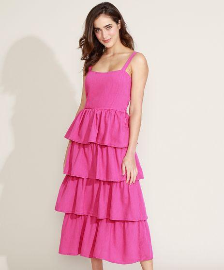 Vestido-Feminino-Mindset-Midi-em-Camadas-Alca-Media-Pink-9840951-Pink_1