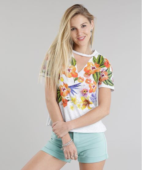 Blusa-Choker-com-Estampa-Floral-Cinza-Mescla-8779697-Cinza_Mescla_1