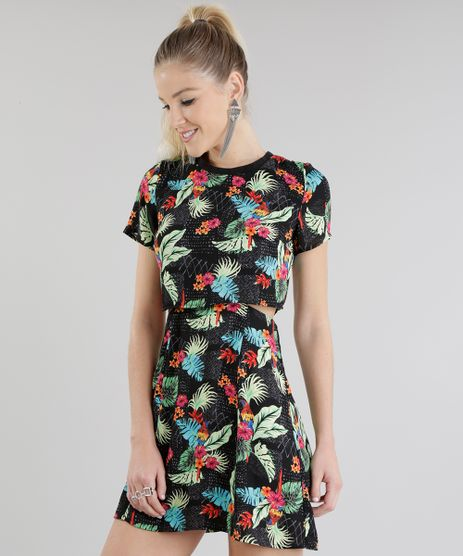 Vestido Floral em Moda Feminina - Vestidos C A Floral de R 30 e1321ecdc4921