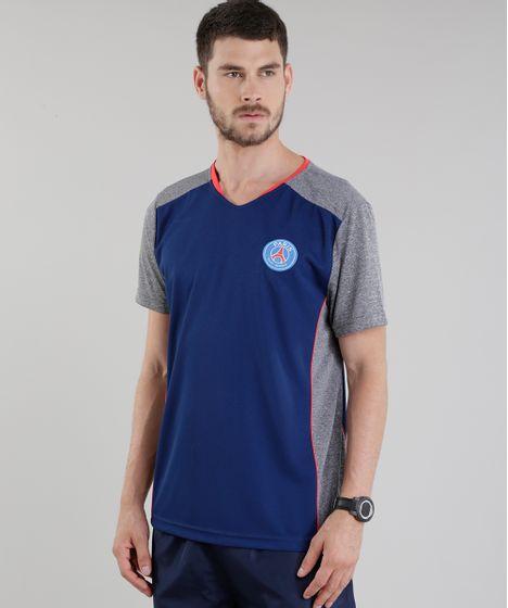 3b7422269 Camiseta-Paris-St--Germain-Azul-Marinho-8795286-Azul Marinho 1 ...