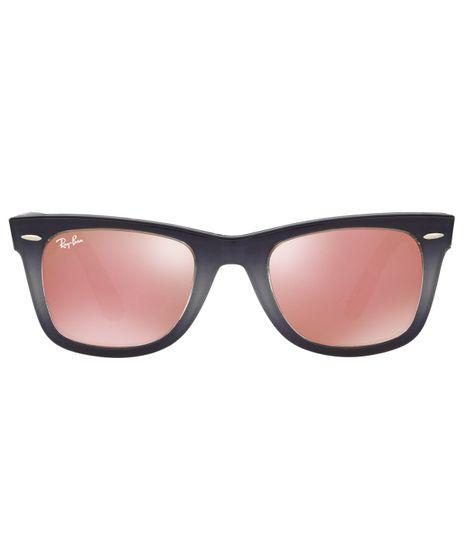 eotica. foto-1. Moda Feminina. Adicionar Óculos de Sol Ray-Ban Wayfarer  RB2140 - Espelhado ... b1195ffb85