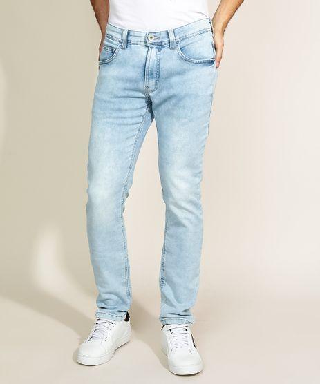 Calca-Jeans-Masculina-Skinny-com-Bolsos-Azul-Claro-9970743-Azul_Claro_1