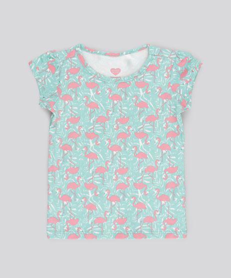 Blusa-Estampada-de-Flamingos-Verde-Agua-8767746-Verde_Agua_1