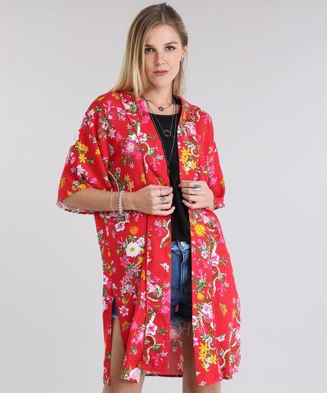 Kimono-Estampado-Floral-Vermelho-8717628-Vermelho_1