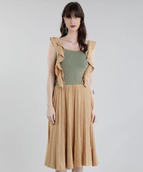 Vestido-GIG-Couture-em-Trico-com-Lurex-Dourado-8695299-Dourado_1
