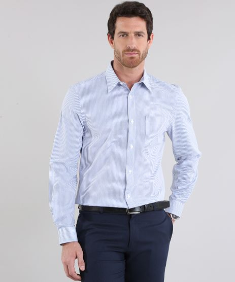 Camisa-Comfort-Listrada-Azul-Claro-8637849-Azul_Claro_1