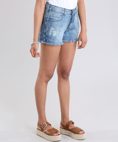 Short-Jeans-Relaxed-Destroyed-Azul-Medio-8796866-Azul_Medio_1