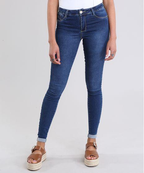 f8aa1d0f1 Calca-Jeans-Super-Skinny-Sawary-Azul-Escuro-8865791-