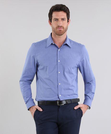 Camisa-Comfort-Estampada-Azul-8637840-Azul_1