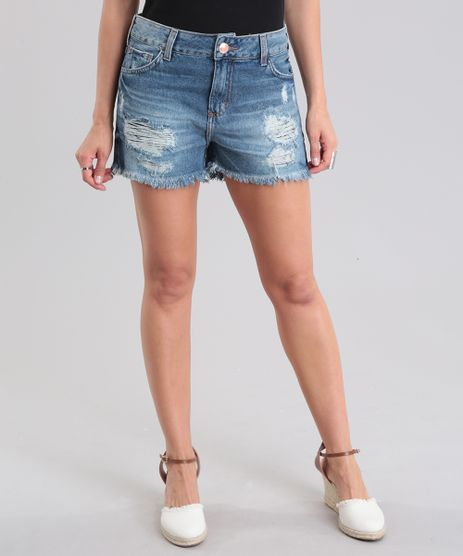 Short-Jeans-Boyshort-Destroyed-Azul-Escuro-8780347-Azul_Escuro_1