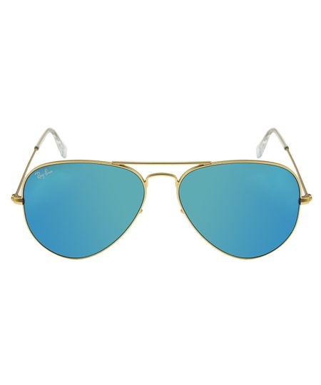 Óculos de Sol Ray Ban Aviator 58 RB3025 Esp Dr Az 112-17 ... 87744a14eb