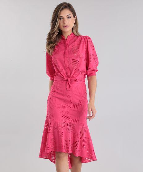 Camisa-Cropped-PatBO-em-Laise-Pink-8689829-Pink_1