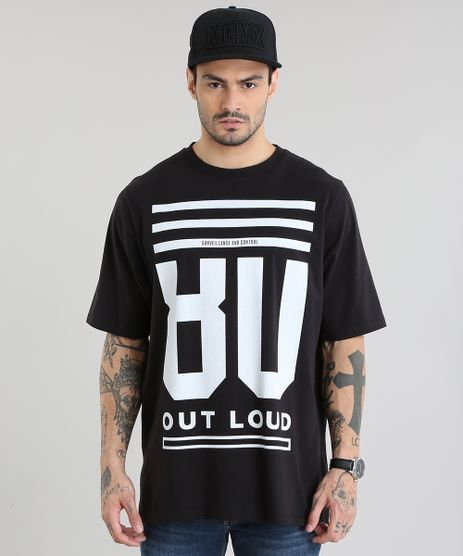 Camiseta-Longa--80--Preta-8801590-Preto_1