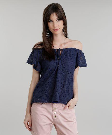 Blusa-Ombro-a-Ombro-em-Renda-Azul-Marinho-8832187-Azul_Marinho_1