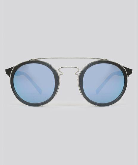 Oculos-de-Sol-Redondo-Feminino-Oneself-Preto-8628911- b695e24fb1