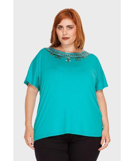 96ae5571c Moda Feminina - Blusas Azul Turquesa – cea