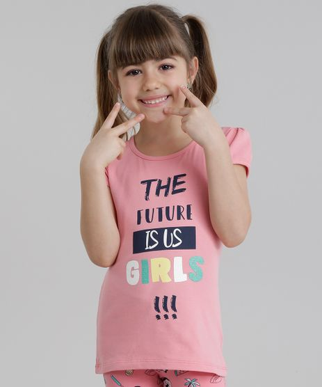Blusa--The-Future-is-Us-Girls-----Rosa-8819819-Rosa_1