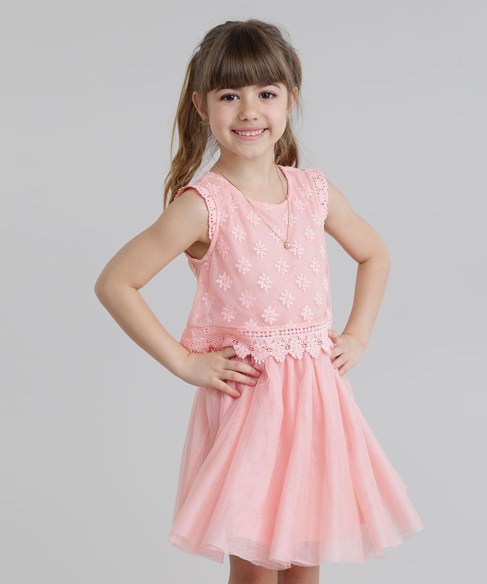 c025950c8 ... Vestido-em-Tule-Bordado-com-Renda-Rose-8692942-