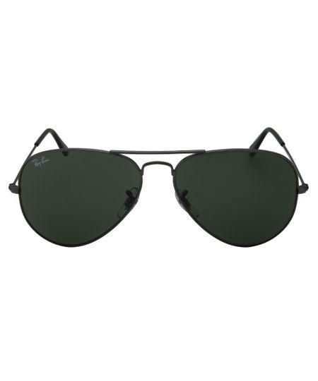 bba8cd3f81aa0 Óculos de Sol Ray Ban Aviator 58 RB3025 Grafite G15 W0879 ...