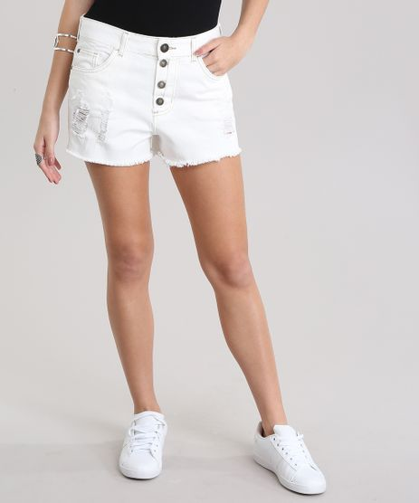 Short-Jeans-Relaxed-Destroyed-Off-White-8797537-Off_White_1