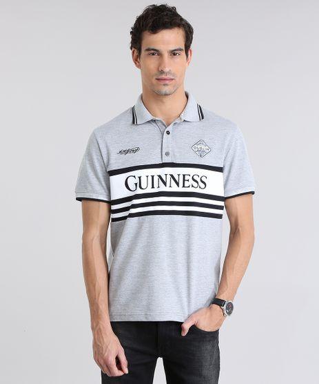 Polo-Guinness-em-Piquet-com-Patch-Cinza-Mescla-8781843-Cinza_Mescla_1