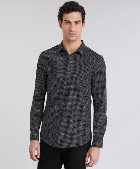 Camisa-Slim-Estampada-Preta-8636888-Preto_1