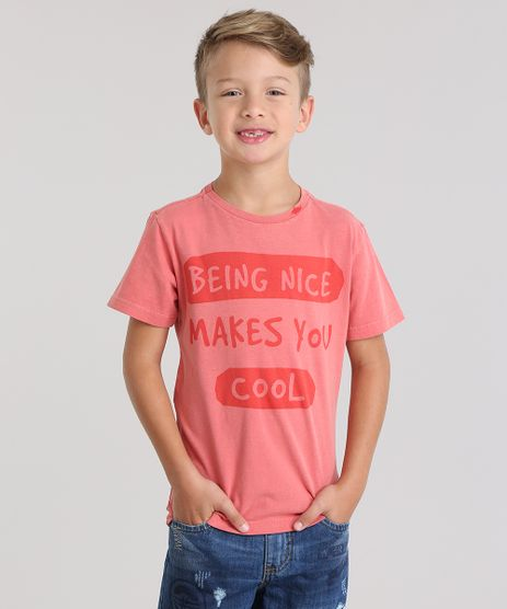 Camiseta--Being-Nice-Makes-You-Cool--Coral-8808659-Coral_1