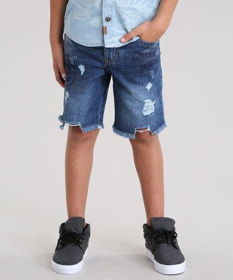 Bermuda-Jeans-Reta-Destroyed-Azul-Escuro-8804234-Azul_Escuro_1
