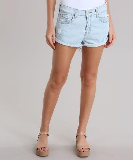 Short-Jeans-Relaxed-Destroyed-Azul-Claro-8797530-Azul_Claro_1