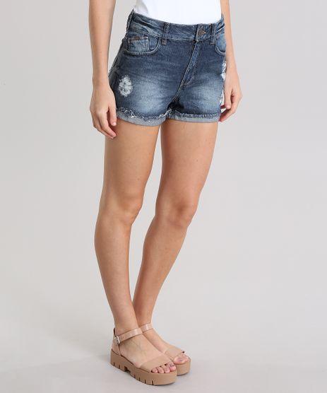 Short-Jeans-Vintage-Destroyed-Azul-Escuro-8796867-Azul_Escuro_1