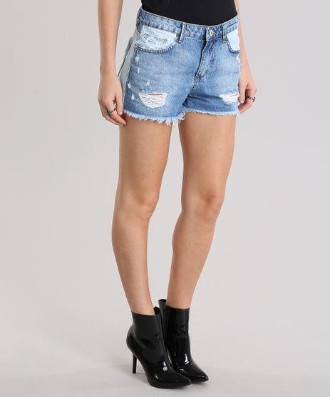 Short-Jeans-Relaxed-Destroyed-Azul-Medio-8796869-Azul_Medio_1