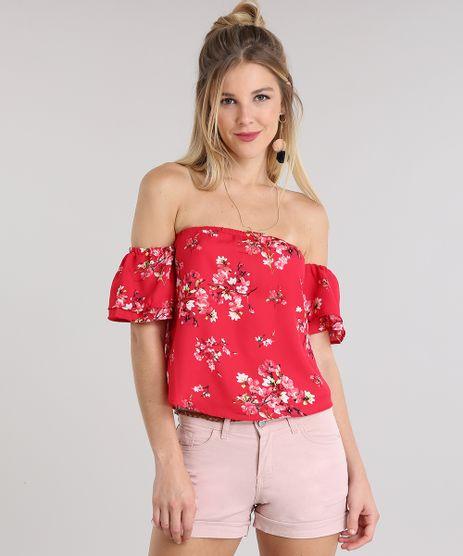 Blusa-Ombro-a-Ombro-Estampada-Floral-Vermelha-8723971-Vermelho_1