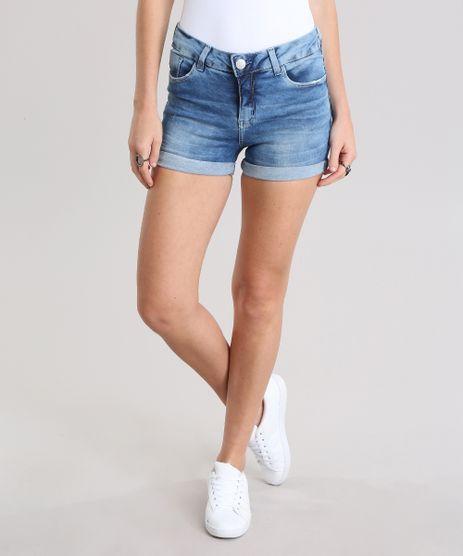 Short-Jeans-Reto-Azul-Medio-8797533-Azul_Medio_1