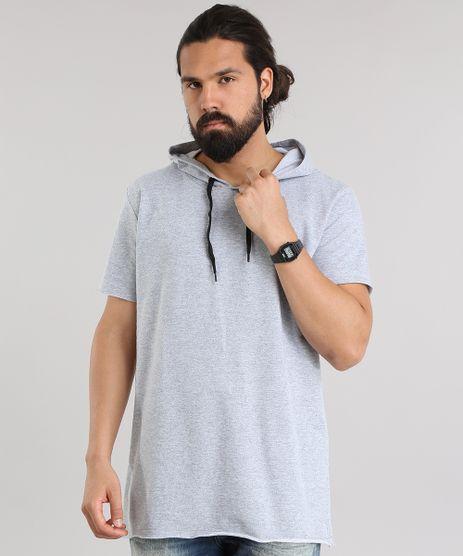 Camiseta-Longa-em-Moletom-com-Capuz-Cinza-Mescla-8332686-Cinza_Mescla_1