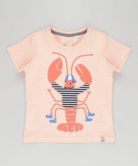 Camiseta-com-Estampa-Interativa--Lagosta--Coral-8811719-Coral_1